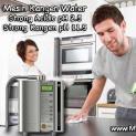 Membersihkan Rumah Dengan Strong Acidic dan Strong Kangen Water