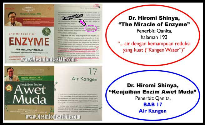 miracle of enzyme dr hiromi shinya kangen water