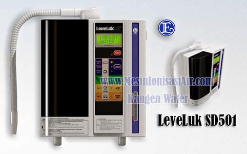mesin kangen water leveluk sd501