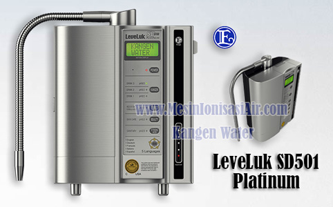 mesin kangen water leveluk sd501 platinum